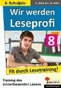 Cover-Bild zu Wir werden Leseprofi 8 (eBook) von Stolz, Ulrike