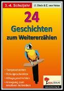 Cover-Bild zu 24 Geschichten zum Weitererzählen / Grundschule (eBook) von Stolz, Ulrike