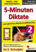 Cover-Bild zu 5-Minuten-Diktate zum gezielten Rechtschreibtraining / 2. Schuljahr (eBook) von Stolz, Ulrike