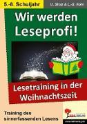 Cover-Bild zu Wir werden Leseprofi! - Sekundarstufe (eBook) von Stolz, Ulrike