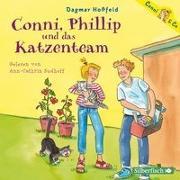Cover-Bild zu Hoßfeld, Dagmar: Conni, Phillip und das Katzenteam