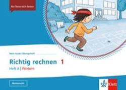 Cover-Bild zu Mein Anoki-Übungsheft. Richtig rechnen 1. Heft A / Fördern Klasse 1. Übungsheft Klasse 1