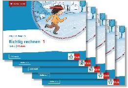 Cover-Bild zu Mein Anoki-Übungsheft. Richtig rechnen 1. Heft A   Fördern. Übungsheft im 5er-Paket Klasse 1