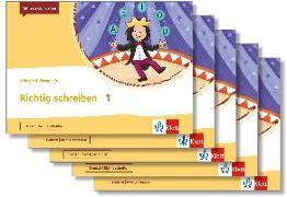 Cover-Bild zu Mein Anoki-Übungsheft. Richtig schreiben 1. Übungsheft im 5er-Paket Klasse 1