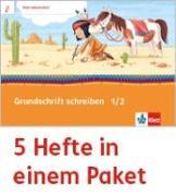 Cover-Bild zu Mein Anoki-Übungsheft. Grundschrift schreiben. Arbeitsheft Klasse 1/2 (5-er Paket)
