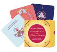 Cover-Bild zu Chopra, Deepak: Meditationen und Affirmationen