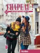 Cover-Bild zu Chapeau ! A1. Kursbuch + Arbeitsbuch von Laudut, Nicole