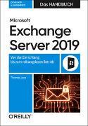 Cover-Bild zu Microsoft Exchange Server 2019 - Das Handbuch von Joos, Thomas
