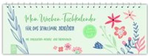 """Cover-Bild zu Mein Wochen-Tischkalender für das Schuljahr 2020/2021 - """"live - love - teach"""""""