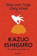 Cover-Bild zu Was vom Tage übrig blieb (eBook) von Ishiguro, Kazuo
