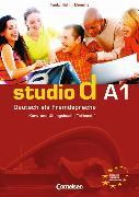Cover-Bild zu Bayerlein, Oliver: Studio d A1. Teilband 1 des Gesamtbandes. Kurs- und Übungsbuch