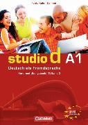 Cover-Bild zu Funk, Hermann: Studio d A1. Teilband 2. Kurs- und Übungsbuch