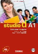 Cover-Bild zu Funk, Hermann: Studio d A1. Schweizer Ausgabe. Kurs- und Übungsbuch