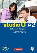 Cover-Bild zu Kuhn, Christina: studio d A2. Schweizer Ausgabe. Kurs- und Übungsbuch