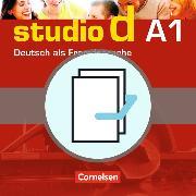 Cover-Bild zu Funk, Hermann: Studio d A1. Gesamtband. Kurs- und Übungsbuch / Sprachtraining
