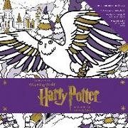 Cover-Bild zu Rowling, Joanne K.: Harry Potter: Winter at Hogwarts: A Magical Colouring Set