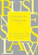 Cover-Bild zu Prinzipien des Vertragsrechts von Böhringer, Peter (Hrsg.)