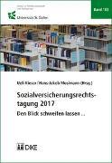 Cover-Bild zu Sozialversicherungsrechtstagung 2017 von Mosimann, Hans-Jakob