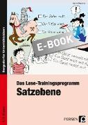 Cover-Bild zu Das Lese-Trainingsprogramm: Satzebene (eBook) von Wemmer, Katrin