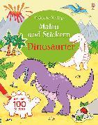 Cover-Bild zu Malen und Stickern: Dinosaurier von Taplin, Sam