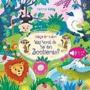 Cover-Bild zu Klänge der Natur: Was hörst du bei den Zootieren? von Taplin, Sam