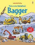 Cover-Bild zu Mein erstes Stickerbuch: Bagger von Taplin, Sam