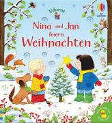 Cover-Bild zu Nina und Jan feiern Weihnachten von Taplin, Sam