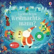 Cover-Bild zu Was hörst du beim Weihnachtsmann? von Taplin, Sam