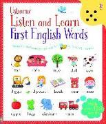 Cover-Bild zu Listen and Learn First English Words von Taplin, Sam