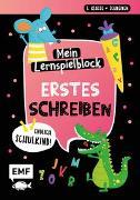 Cover-Bild zu Thißen, Sandy (Illustr.): Endlich Schulkind! Mein Lernspielblock - Erstes Schreiben