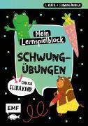 Cover-Bild zu Thißen, Sandy (Illustr.): Endlich Schulkind! Mein Lernspielblock - Schwungübungen
