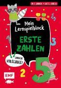 Cover-Bild zu Thißen, Sandy (Illustr.): Endlich Vorschule! Mein Lernspielblock - Erste Zahlen