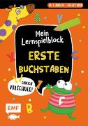 Cover-Bild zu Thißen, Sandy (Illustr.): Endlich Vorschule! Mein Lernspielblock - Erste Buchstaben