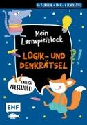 Cover-Bild zu Thißen, Sandy (Illustr.): Endlich Vorschule! Mein Lernspielblock - Logik- und Denkrätsel