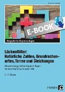 Cover-Bild zu Lückenfüller: Nat. Zahlen, Grundrechenarten, Terme (eBook) von Penzenstadler, Brigitte