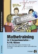 Cover-Bild zu Mathetraining in 3 Kompetenzstufen - 9./10. Klasse (eBook) von Penzenstadler, Brigitte