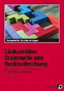 Cover-Bild zu Lückenfüller: Grammatik und Rechtschreibung von Penzenstadler, Brigitte