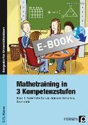 Cover-Bild zu Mathetraining in 3 Kompetenzstufen - 5./6. Klasse (eBook) von Penzenstadler, Brigitte