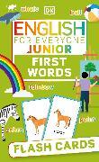 Cover-Bild zu English for Everyone Junior First English Words Flash Cards von DK
