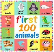 Cover-Bild zu First 100 Animals (First 100 Words, #1) (eBook) von Dk, Roger