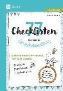 Cover-Bild zu 77 Checklisten für meinen Grundschulalltag von Sander, Manon
