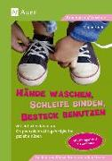 Cover-Bild zu Hände waschen, Schleife binden, Besteck benutzen von Sander, Manon