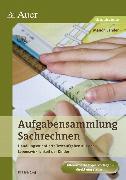 Cover-Bild zu Aufgabensammlung Sachrechnen Klasse 2-4 von Sander, Manon