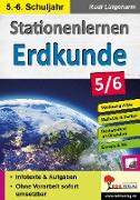 Cover-Bild zu Stationenlernen Erdkunde / Klasse 5-6 von Lütgeharm, Rudi