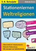 Cover-Bild zu Kohls Stationenlernen Weltreligionen von Kraus, Stefanie