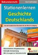 Cover-Bild zu Stationenlernen Geschichte Deutschlands 02 von Schreiner, Kurt