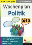 Cover-Bild zu Wochenplan Politik / Klasse 9-10 von Weimann, Viktoria