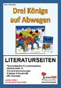 Cover-Bild zu Drei Könige auf Abwegen - Literaturseiten (eBook) von Vatter, Jochen