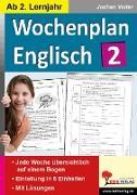 Cover-Bild zu Wochenplan Englisch 2 (eBook) von Vatter, Jochen