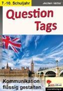 Cover-Bild zu Question tags (eBook) von Vatter, Jochen